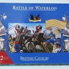 Maquetas: BATALLA BATTLE OF WATERLOO BRITISH CAVALRY 1/72 ACCURATE FIGURES CO TIPO MONTAMAN MAQUETA MILITAR. Lote 173536760