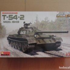 Maquetas: MINIART 37004 TANQUE T-54-2 MOD. 1949 1/35 CON INTERIORES. Lote 122562867