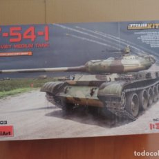 Maquetas: MINIART 37003 TANQUE T-54-1 1/35 CON INTERIORES. Lote 122562987