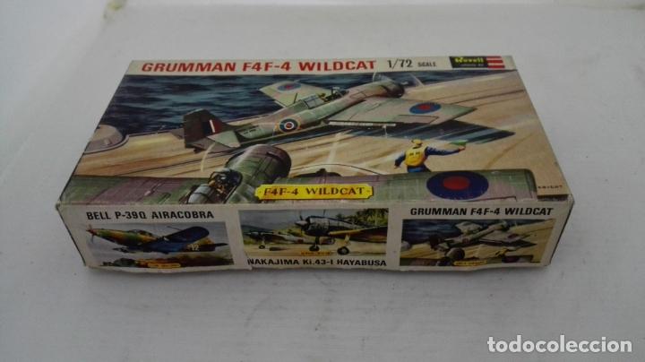 CAJA VACIA MAQUETA GRUMMAN F4F-4 WILDCAT (Juguetes - Modelismo y Radio Control - Maquetas - Aviones y Helicópteros)