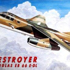 Maquetas: DOUGLAS EB-66E DESTROYER 1/72 ITALERI. Lote 173634103