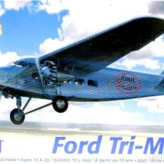 Maquetas: FORD 4-AT TRIMOTOR (GUERRA CIVIL) 1/77 (1/72) REVELL. Lote 173680804