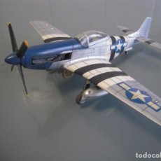 Maquetas: NORTH AMERICAN P-51 D MUSTANG 1/48 MAQUETA MONTADA Y PINTADA. Lote 173787138