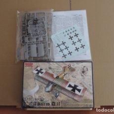 Maquettes: MAQUETA CAZA ALEMAN WW1 - RODEN 006 WW I ALBATROS D.II 1/72. Lote 173853654