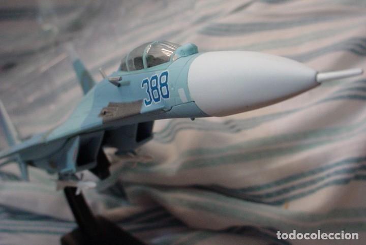 Maquetas: Sukhoi 27 SU 27 Flanker avión de combate soviético - Foto 5 - 173865603