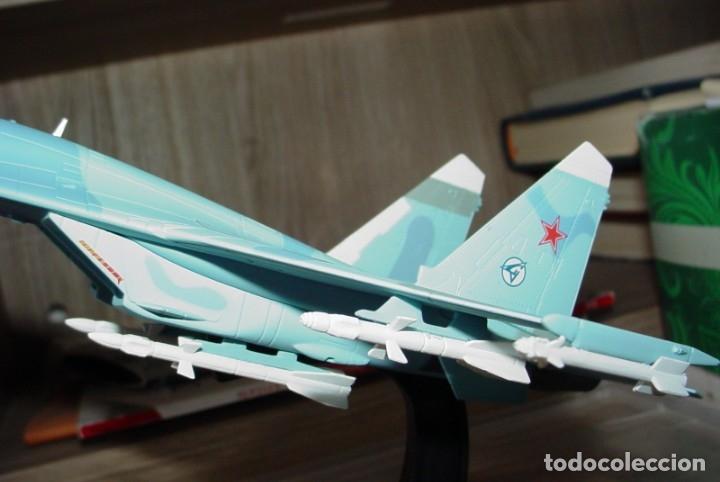 Maquetas: Sukhoi 27 SU 27 Flanker avión de combate soviético - Foto 9 - 173865603