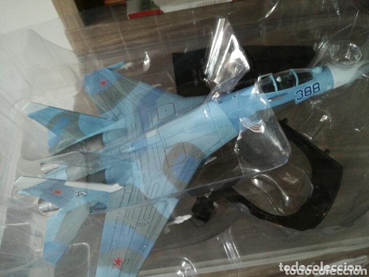 Maquetas: Sukhoi 27 SU 27 Flanker avión de combate soviético - Foto 10 - 173865603