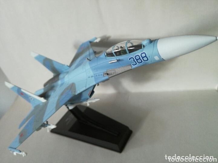 SUKHOI 27 SU 27 FLANKER AVIÓN DE COMBATE SOVIÉTICO (Juguetes - Modelismo y Radio Control - Maquetas - Aviones y Helicópteros)