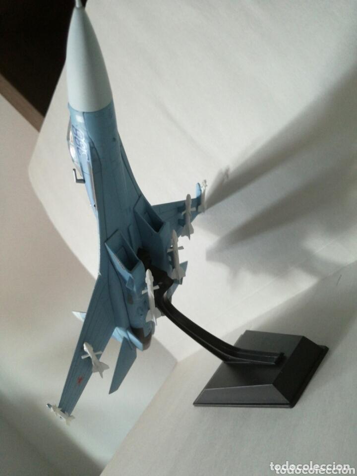 Maquetas: Sukhoi 27 SU 27 Flanker avión de combate soviético - Foto 2 - 173865603