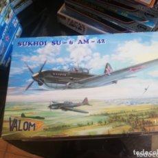 Maquetas: VALOM 1/72 SUKHOI SU-6 AM-42. Lote 173908657