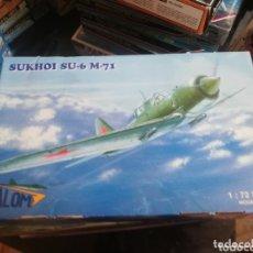 Maquetas: VALOM 1/72 SUKHOI SU-6 M-71. Lote 173908704