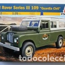 Maquetas: ITALERI - LAND ROVER SERIES III 109 GUARDIA CIVIL 1/35 6542. Lote 173939012