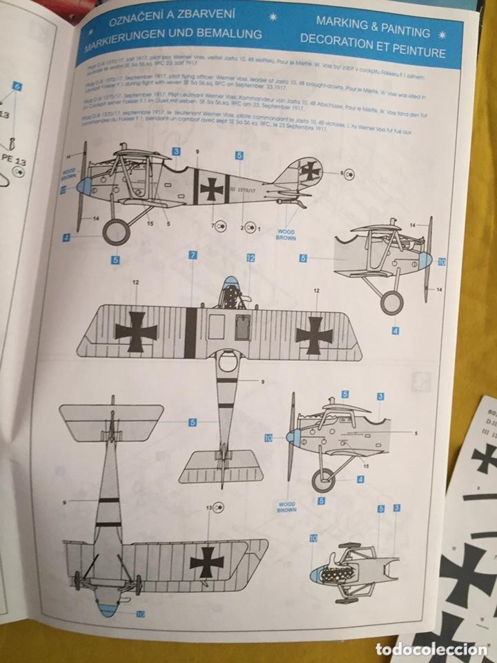 Maquetas: PFALZ D.III WERNER VOSS 1:48 EDUARD 8031 maqueta avión WWI - Foto 2 - 173981902