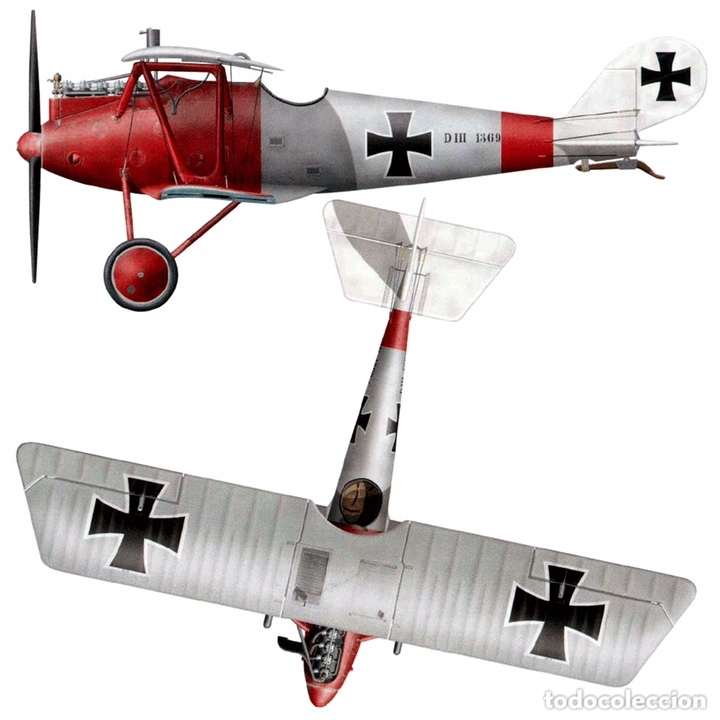 Maquetas: PFALZ D.III WERNER VOSS 1:48 EDUARD 8031 maqueta avión WWI - Foto 6 - 173981902