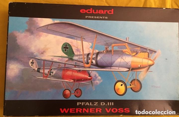 PFALZ D.III WERNER VOSS 1:48 EDUARD 8031 MAQUETA AVIÓN WWI (Juguetes - Modelismo y Radio Control - Maquetas - Aviones y Helicópteros)