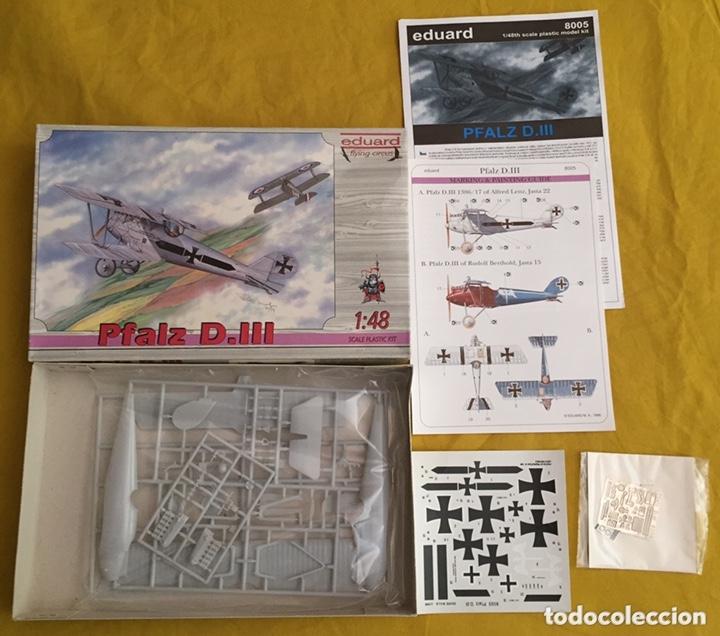 Maquetas: PFALZ D.III 1:48 EDUARD 8005 maqueta avión - Foto 3 - 173986214