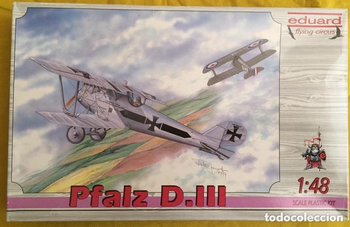 PFALZ D.III 1:48 EDUARD 8005 MAQUETA AVIÓN (Juguetes - Modelismo y Radio Control - Maquetas - Aviones y Helicópteros)