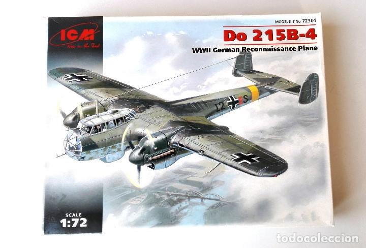 ICM 1:72 • DORNIER DO-215B-4 RARA VERSIÓN 'RECO' IIGM • MAQUETA 1/72 (Juguetes - Modelismo y Radio Control - Maquetas - Aviones y Helicópteros)