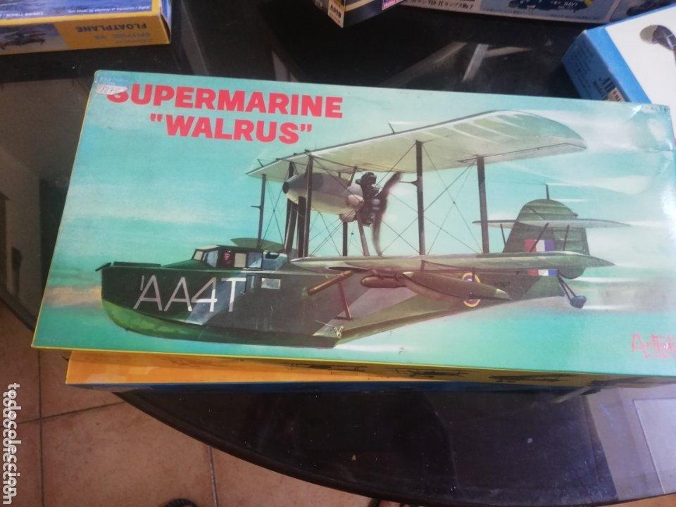 SUPERMARINE WALRUS (Juguetes - Modelismo y Radio Control - Maquetas - Aviones y Helicópteros)
