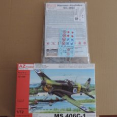 Maquetas: MAQUETA CAZA FRANCES - AZ MODEL 7529 MORANE-SAULNIER MS.406C-1 IN FOREIGN SERVICES 1/72. Lote 174163004