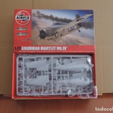 Maquettes: MAQUETA CAZA BRITANICO - AIRFIX A02074 GRUMMAN MARTLET MK.IV 1/72. Lote 174177253