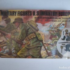 Maquetas: AIRFIX MULTIPOSE FIGURES 1/32 US. INFANTRY EUROPE (1976) . Lote 174229888