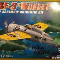 Maquetas: F4F-3 WILDCAT 1:72 HOBBY BOSS MAQUETA AVIÓN. Lote 174321773