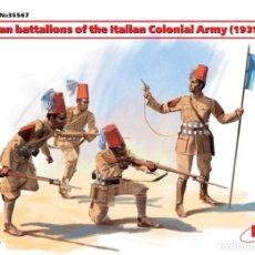 Macchiette: ERITREAN BATTALIONS OF THE ITALIAN СOLONIAL ARMY (1939-1940) 1/35 ICM. Lote 174337248