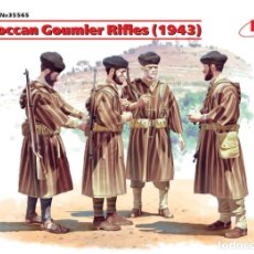 Macchiette: MOROCCAN GOUMIER RIFLES (1943)1/35 ICM. Lote 174337579
