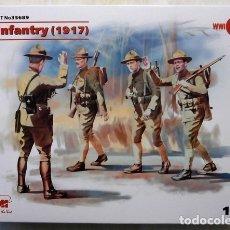 Maquetas: US INFANTRY (1917)1/35 ICM. Lote 174339152