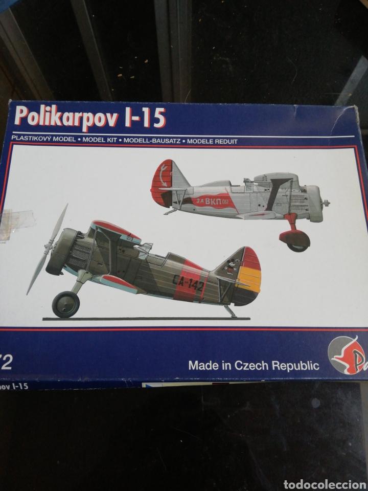 PAVLA MODELS 1/72 POLIKARPOV I-15 (Juguetes - Modelismo y Radio Control - Maquetas - Aviones y Helicópteros)