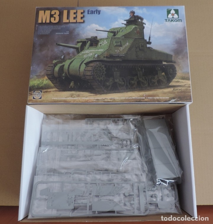 Maquetas: Maqueta - TAKOM 2085 US Medium Tank M3 Lee 1/35 - Foto 1 - 174388747