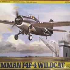 Maquetas: GRUMMAN F4F-4 WILDCAT 1:48 TAMIYA MAQUETA AVIÓN. Lote 174507534
