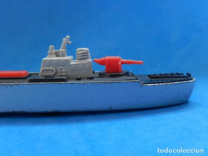 Maquetas: Dos barcos de guerra. Corvette (Corbeta) C70. Fabricados en Inglaterra por Matchbox, Lesney. 1976. - Foto 21 - 174513222