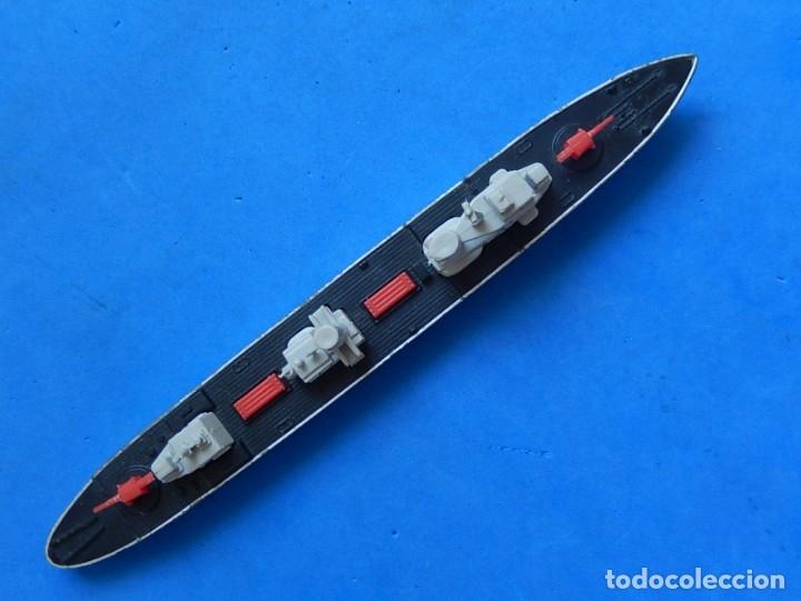 Maquetas: Dos barcos de guerra. Corvette (Corbeta) C70. Fabricados en Inglaterra por Matchbox, Lesney. 1976. - Foto 26 - 174513222