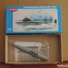 Maquetas: MAQUETA - MIKRO MIR 350-006 SOVIET ATTACK SUBMARINE 705 K ALFA CLASS 1/350. Lote 174583439