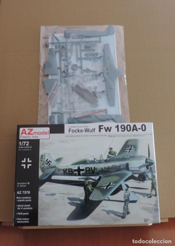 AZ Models 1//72 Focke-Wulf Fw-190A-0 # 7583