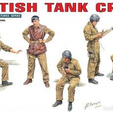 Maquetas: BRITISH TANK CREW 1/35 MINIART. Lote 174995145
