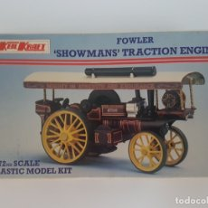 Macchiette: MAQUETA FOWLER SHOWMANS TRACTION ENGINE ( 1:72 ) PARA MONTAR, KEIL KRAFT. Lote 175134569