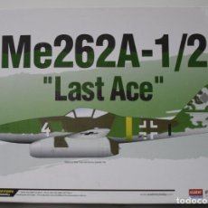 Maquetas: MAQUETA MESSERSCHMITT ME 262A-1A/A-2A ESCALA 1/72. Lote 175182068