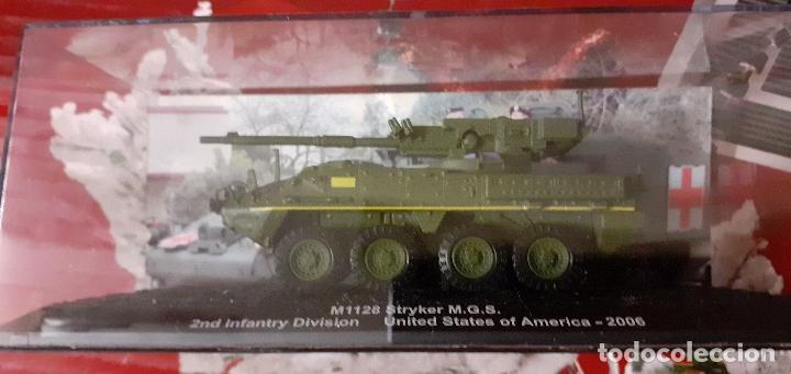 M 1128 STRYKER. CARROS DE COMBATE ALTAYA 1/72 (Juguetes - Modelismo y Radiocontrol - Maquetas - Militar)