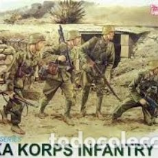 Maquettes: DRAGON - AFRIKA KORPS INFANTRY 1/35 6138. Lote 207663438