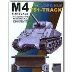 Maquetas: AFV CLUB - M4 T51-TRACK 1/35 35026. Lote 175452213