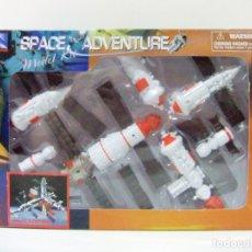 Maquetas: SPACE STATION MIR ESTACIÓN ESPACIAL - NEWRAY SPACE ADVENTURE - JUGUETE NAVE ESPACIO ORBITAL MÓDULO . Lote 175533375