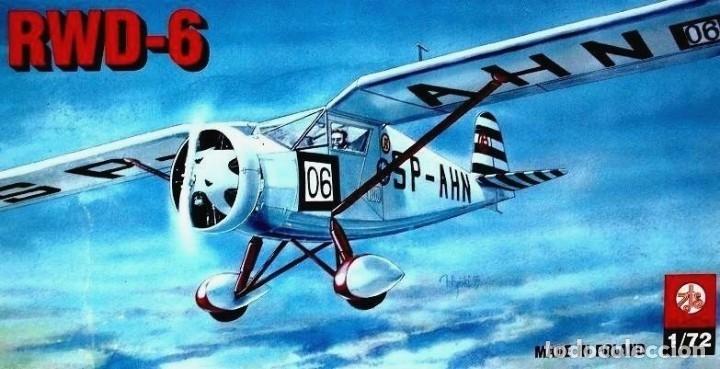 Maquetas: MAQUETA de avión, AVIONETA Sport - ZTS Mod. RWD-6 - SCL. 1/72 Hecha En Polonia - Foto 3 - 175545485