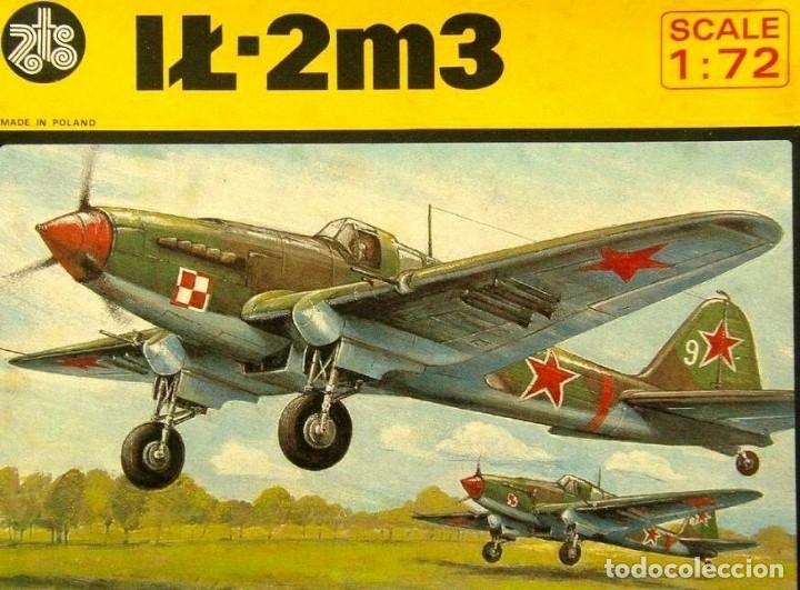 MAQUETA DE AVIÓN MILITAR - AVIACION POLACA WWII - ZTS MOD. IL-2M3 - 1/72 HECHO EN POLONIA (Juguetes - Modelismo y Radio Control - Maquetas - Aviones y Helicópteros)