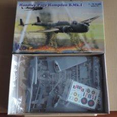Maquetas: MAQUETA BOMBARDERO BRITANICO - VALOM 72033 HANDLEY PAGE HAMPDEN B MK.I 1/72. Lote 175591748