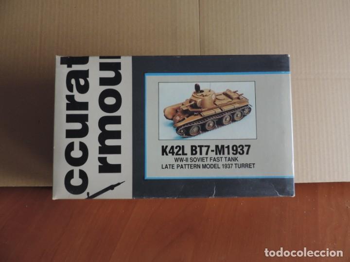 MAQUETA - ACCURATE ARMOUR K42L BT7-M1937 SOVIET FAST TANK 1/35 (RESINA) (Juguetes - Modelismo y Radiocontrol - Maquetas - Militar)