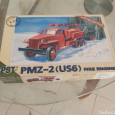 Maquetas: PST 1/72 PMZ-2 (US6) FIRE ENGINE. Lote 175603082
