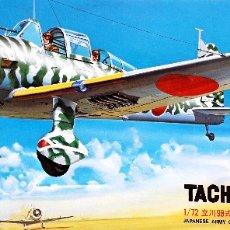 Maquetas: TACHIKAWA KI-36 'IDA' 1/72 FUJIMI. Lote 175623293
